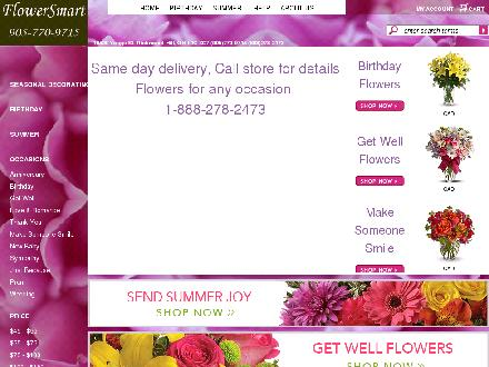 Flowersmart (905-770-9715) - Website thumbnail - http://www.flower-smart.com