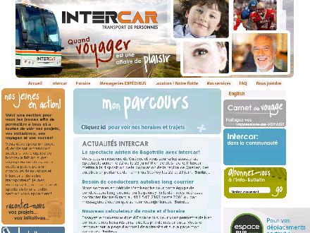 Intercar (418-547-2167) - Website thumbnail - http://www.intercar.ca