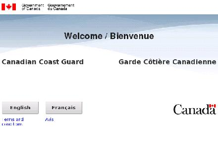 Canadian Coast Guard (1-866-290-3731) - Website thumbnail - http://www.ccg-gcc.gc.ca