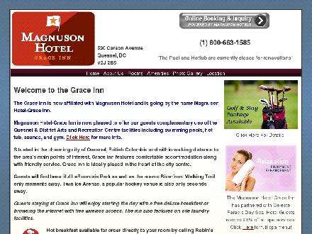 Grace Inn (250-992-2187) - Onglet de site Web - http://www.grace-inn.ca