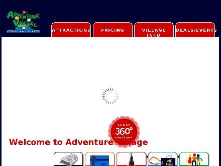 Adventure Village (905-549-9444) - Onglet de site Web - http://www.adventurevillage.ca