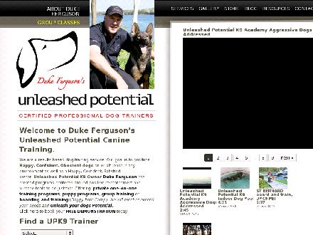 Unleashed Potential K9 (902-838-7833) - Onglet de site Web - http://www.upk9.ca