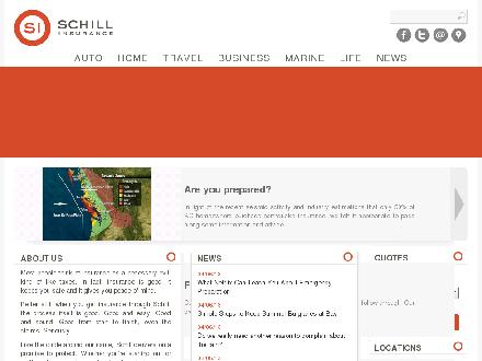 Schill Insurance Brokers Ltd (604-591-3341) - Onglet de site Web - http://www.schillinsurance.com