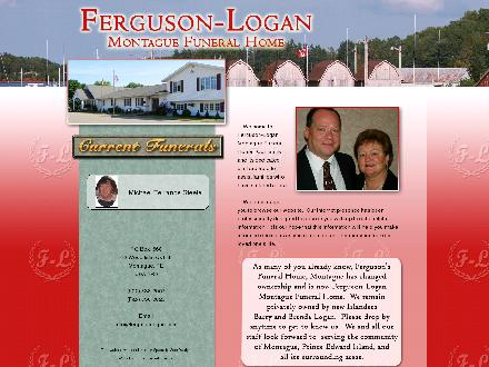 Ferguson-Logan Montague Funeral Home (902-838-2557) - Website thumbnail - http://www.fergusonlogan.com