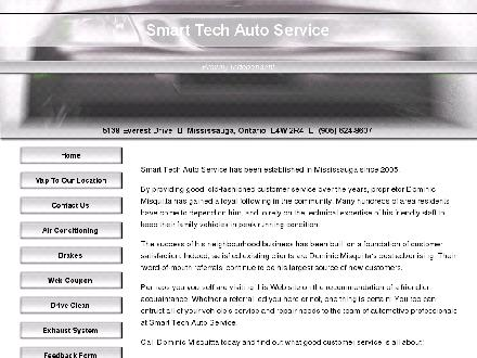 Smart Tech Auto Service (905-624-8607) - Onglet de site Web - http://www.smart-tech.aaro.ca