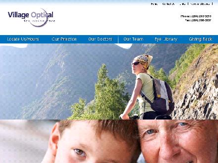 Village Optical (204-256-0063) - Website thumbnail - http://www.villageoptical.ca