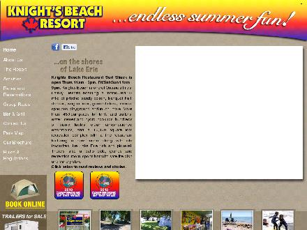 Knights Beach (905-774-4566) - Website thumbnail - http://www.knightsbeach.com