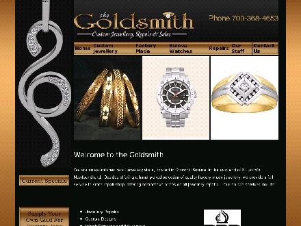 Goldsmith Custom Jewellery & Repair The (709-368-4653) - Website thumbnail - http://www.thegoldsmith.ca