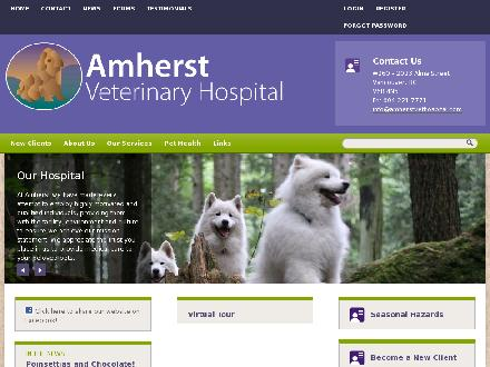 Amherst Veterinary Hospital Ltd (604-695-1163) - Website thumbnail - http://amherstvethospital.com/