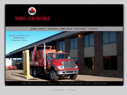 Maple Leaf Metals (A Partnership) (780-468-3951) - Website thumbnail - http://www.mapleleafmetals.com