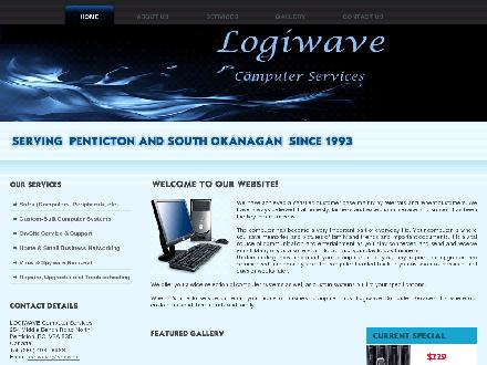 Logiwave Computers (250-493-6988) - Website thumbnail - http://logiwave.ca