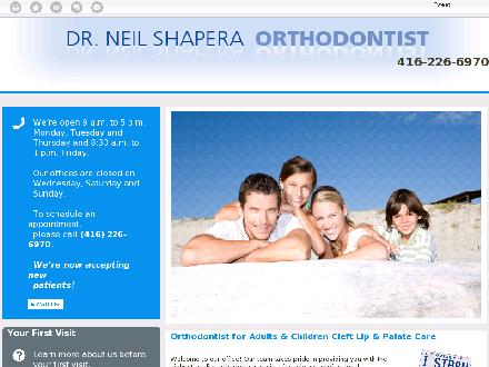 Shapera Neil H Dr (416-226-6970) - Website thumbnail - http://www.drneilshapera.com