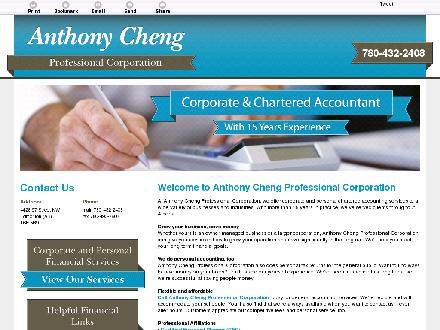 Anthony Cheng Professional Corporation (780-432-2408) - Website thumbnail - http://www.anthonycheng.ca