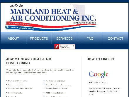 A D W Mainland Heat Inc (604-539-0675) - Website thumbnail - http://www.mainlandheat.com