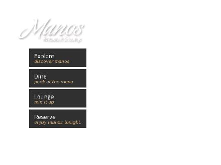 Mano's Restaurants & Lounge (306-955-5555) - Website thumbnail - http://www.manos.ca