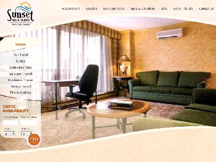 Sunset Inn & Suites (604-688-2474) - Onglet de site Web - http://www.sunsetinn.com
