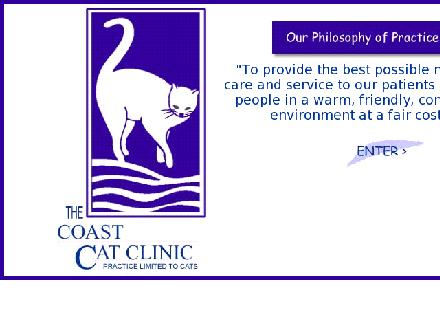 Coast Cat Clinic (604-299-3395) - Website thumbnail - http://www.coastcatclinic.com