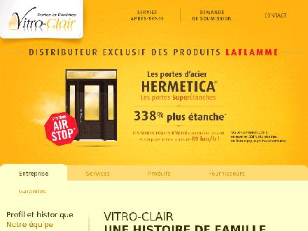 Vitro-Clair Inc (418-681-1120) - Website thumbnail - http://www.vitroclair.com