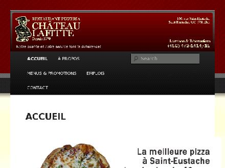 Restaurant Ch&acirc;teau Lafitte (450-472-1414) - Website thumbnail - http://www.chateaulafitte.ca