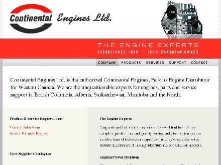 Continental Engines Ltd (780-426-3890) - Website thumbnail - http://www.continentalengines.net