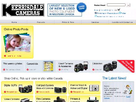 Kerrisdale Cameras Ltd (604-437-8551) - Website thumbnail - http://www.kerrisdalecameras.com