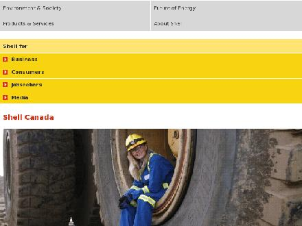 SHELL - King Edward Shell (204-697-1820) - Onglet de site Web - http://www.shell.ca