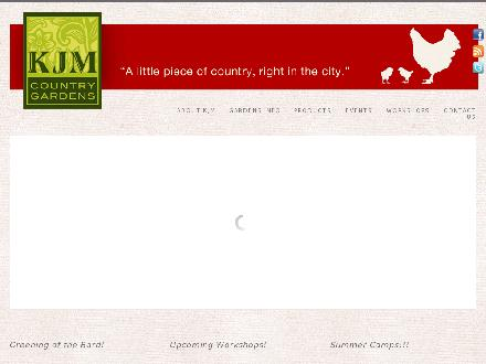 KJM Country Gardens (604-266-1397) - Website thumbnail - http://www.kjmcountrygardens.com