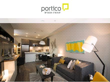 Portico Design Group Ltd (604-275-5470) - Website thumbnail - http://www.porticodesign.com