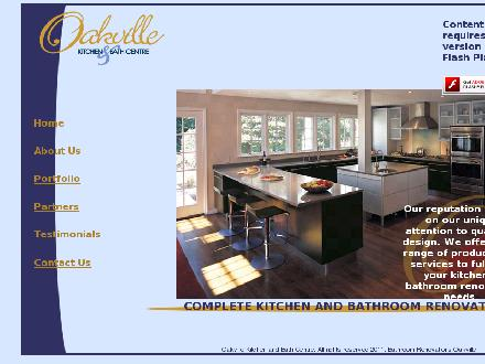 Oakville Kitchen & Bath Centre (905-827-4611) - Website thumbnail - http://www.oakvillekitchencentre.com