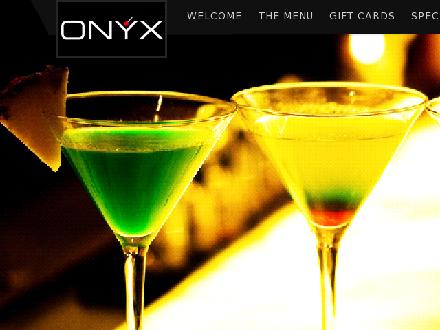 Onyx Dining Room &amp; Cocktail Bar (902-428-5680) - Onglet de site Web - http://www.onyxdining.com