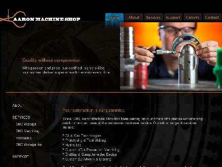 Aaron Machine Shop Ltd (403-767-0974) - Website thumbnail - http://www.aaronmachineshop.com