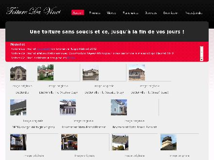 Toiture Da Vinci inc (418-948-0384) - Website thumbnail - http://www.toituredavinci.com