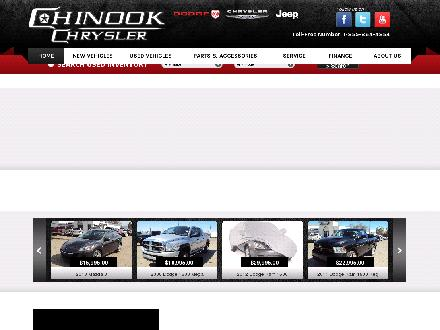 Chinook Chrysler (2007) Ltd (403-223-3434) - Website thumbnail - http://www.chinookchrysler.com