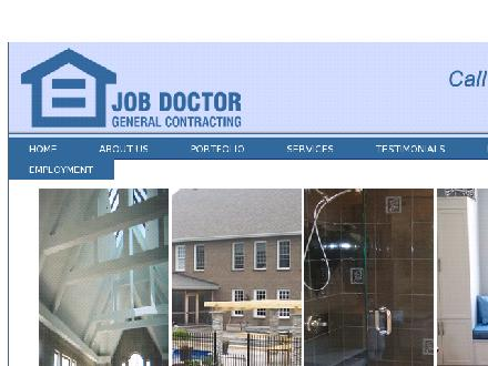 Job Doctor General Contracting (613-741-5600) - Onglet de site Web - http://www.jobdoctorgc.com