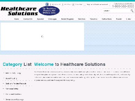 Healthcare Solutions (780-613-0231) - Onglet de site Web - http://www.healthcaresolutions.ca