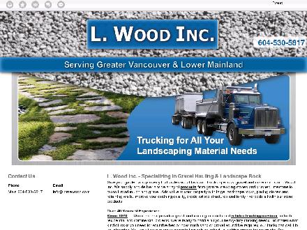L Wood Inc (604-539-0641) - Website thumbnail - http://lornewood.com