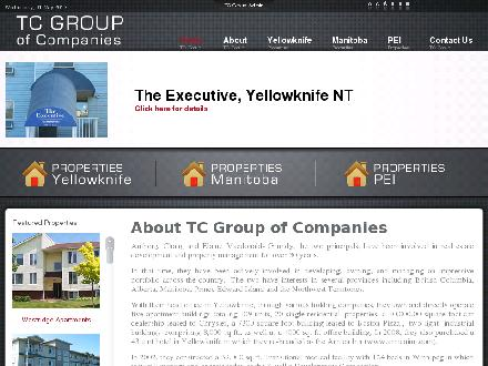 TC Group Of Companies (867-669-8300) - Onglet de site Web - http://www.tcent.ca