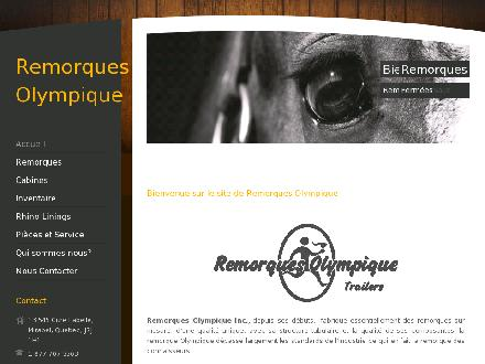 Remorques Olympique Mobile (450-435-5563) - Website thumbnail - http://www.remorquesolympique.com