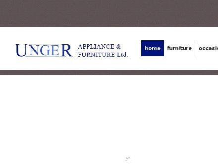 Unger Appliance & Furniture (1973) Ltd (604-852-5457) - Website thumbnail - http://www.unger.bc.ca