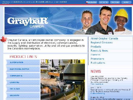 Harris &amp; Roome/Graybar (709-722-6161) - Website thumbnail - http://www.graybarcanada.com