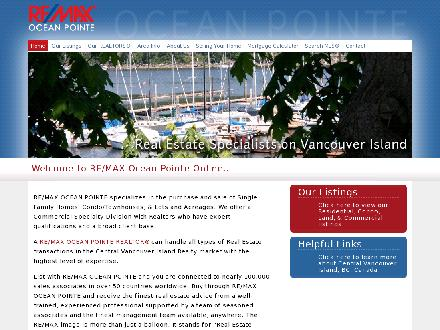 Remax Ocean Pointe Realty (250-246-3700) - Website thumbnail - http://www.remaxocean.bc.ca