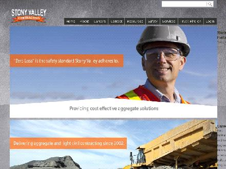 Stony Valley Contracting (780-743-0527) - Onglet de site Web - http://www.stonyvalley.ca