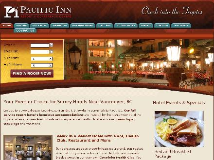 Pacific Inn Resort & Conference Centre (604-535-1432) - Onglet de site Web - http://www.pacificinn.com