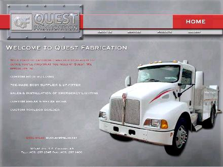 Quest Fabrication (403-287-2845) - Website thumbnail - http://www.questfabrication.ca