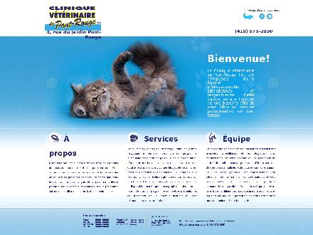 Clinique Vétérinaire de Pont-Rouge Inc (418-873-2050) - Website thumbnail - http://www.cvpontrouge.com