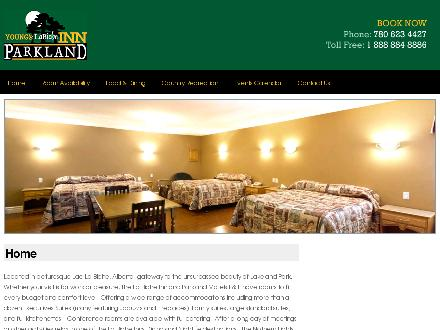 Young's LaBiche Inn (780-623-4427) - Onglet de site Web - http://www.labicheinn.com
