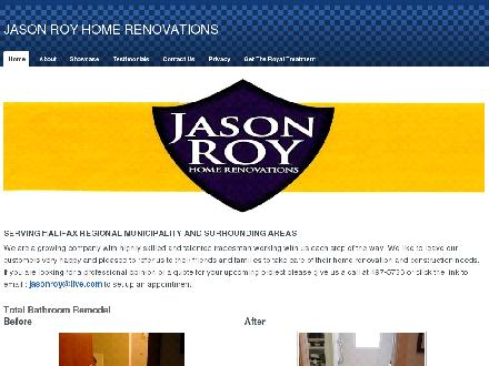 Jason Roy Home Renovations (902-702-2094) - Onglet de site Web - http://www.jasonroyrenovations.com