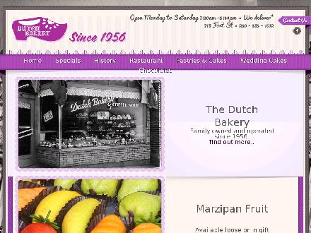 Dutch Bakery &amp; Coffee Shop Ltd (250-385-1012) - Website thumbnail - http://www.thedutchbakery.com