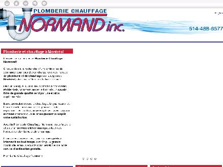 Plomberie Chauffage Normand (514-400-7030) - Website thumbnail - http://pcninc.org