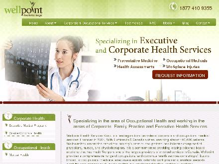 Wellpoint Health Corp (604-594-7711) - Onglet de site Web - http://www.wellpointhealth.ca